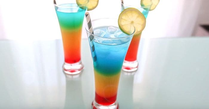 Cocktail Arc En Ciel Sans Alcool