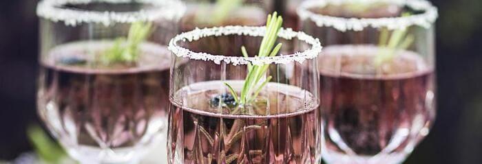 Cocktail Petillant Framboise Sans Alcool
